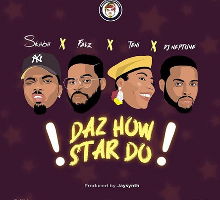 "Skiibii Ft. Falz, Teni & DJ Neptune in ""Daz How Star Do"""
