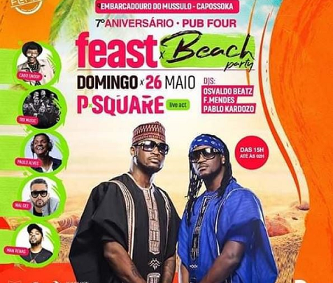 Peter A.k.a. Mr P to Sue Show Organiser Over Paul's Show in Angola
