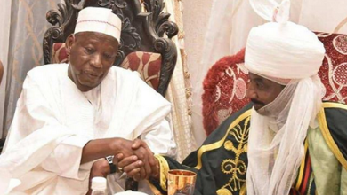 Emir Sanusi and Ganduje