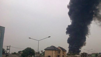 Kom Kom Burn as Shell Pipeline Explodes in Rivers