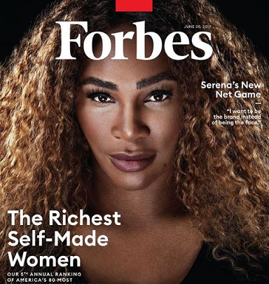 Forbes: Serena Williams Makes History as Richest Athlete Woman