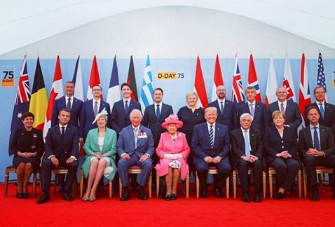 D-Day: Veterans And World Leaders Celebrates 75th Anniversary