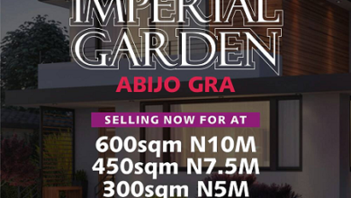 Imperial Gardens Selling At Abijo GRA