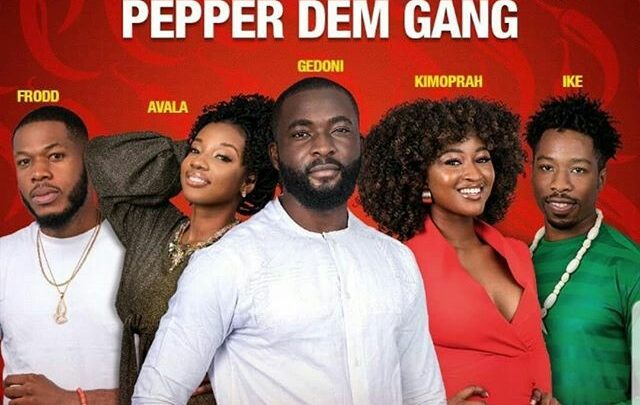 Names of 2019 #BBNaija And Photos (Pepper Dem Gang)