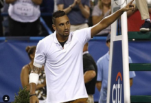 ATP sanctions Kyrgios for unruly character Cincy at Meltdown