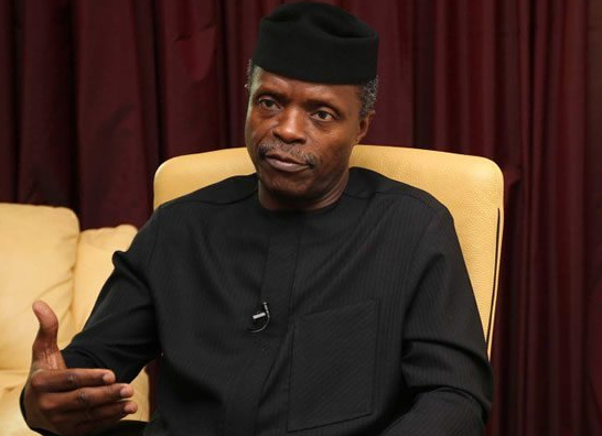Osinbajo-Ready For Court as he Waive Constitutional Immunity