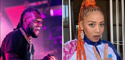 Burna Boy Accuses of Taking 'Own It (Remix)' Down- South African Singer Allege